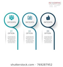 Vector Abstract Element Infographics 3 Option Design For Business Or Finance Template L Graphic Design Brochure Infographic Design Template Infographic Layout