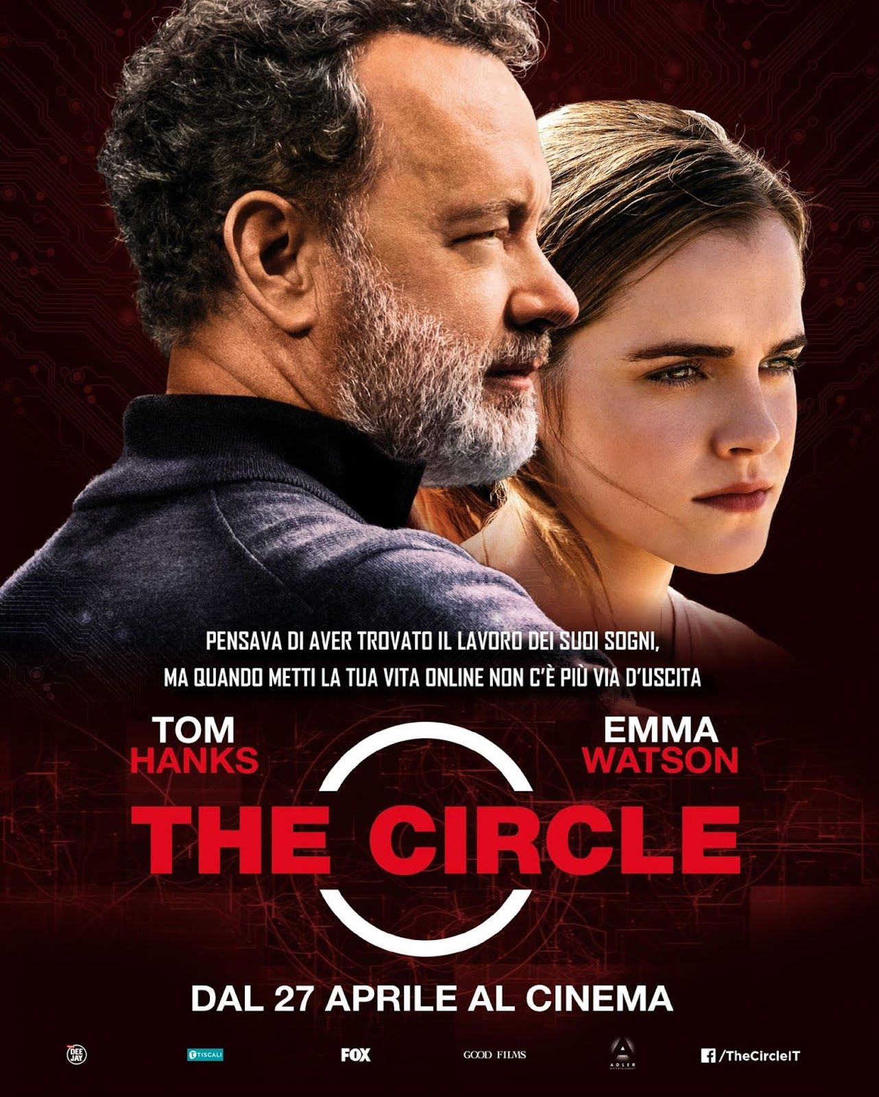 The Watch Movie Poster Watch The Circle (2017...