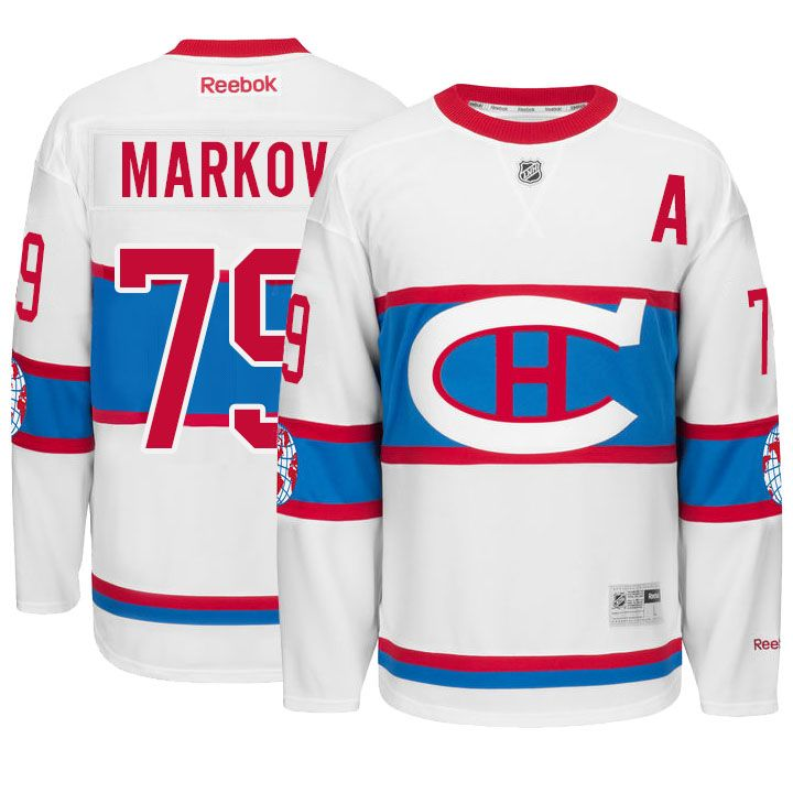 pick up 1128a 99537 canadiens #79 andrei markov 2016 winter classic white jersey ...