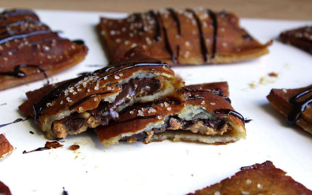 Chocolate Peanut Butter Pretzel Poptarts Vegan Gluten Free