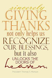 Giving Thanks Quotes Sincere Gratitude Unlocks The Doors Of Heaven♥♥  ~Today I Am