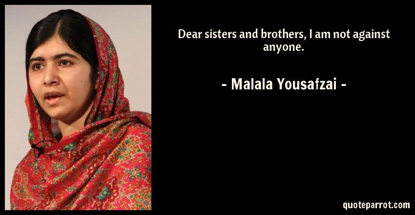 Malala Yousafzai Quotes Image Result For Malala Yousafzai Quotes  New Threads 2018 .