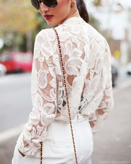 fashforfashion -♛ STYLE INSPIRATIONS♛: lace