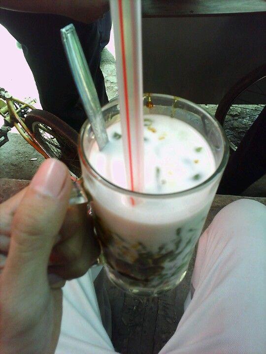 Indonesian food (cendol)