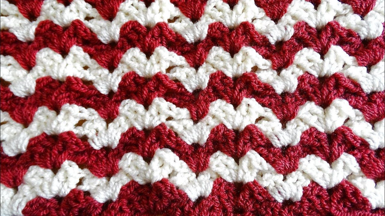Easy Crochet Ripple - Right Handed Crochet Tutorial | dekens haken ...