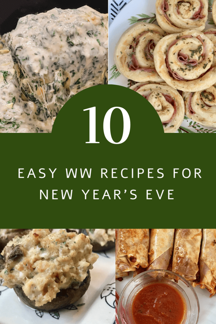 Ten Easy WW Recipes for New Year's Eve (With images) | Ww ...