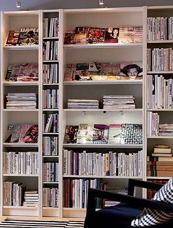 Ikea Billy Bookcase Display Idea