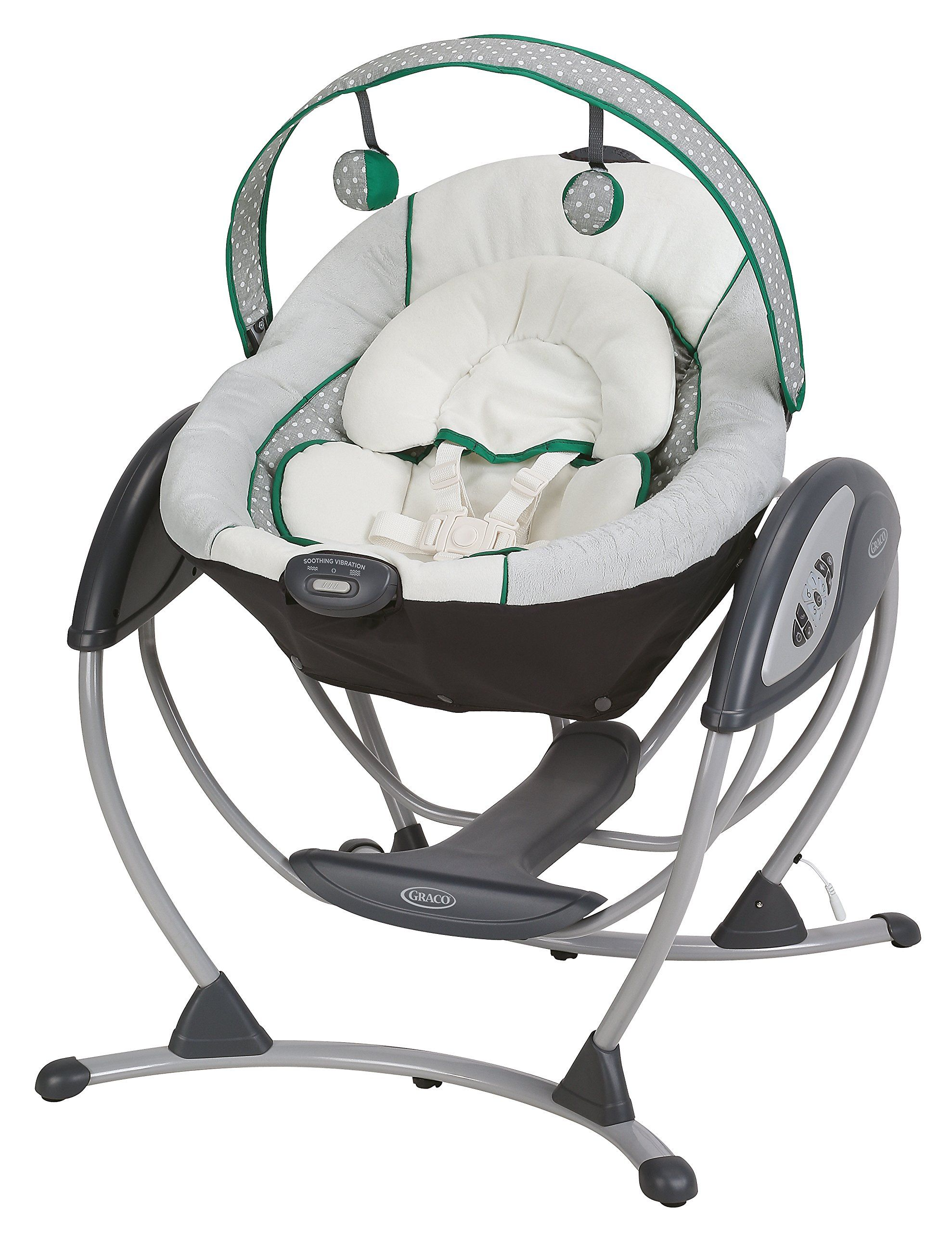 Graco Glider LX Baby Swing, Albie. Soothes with the same gentle ...