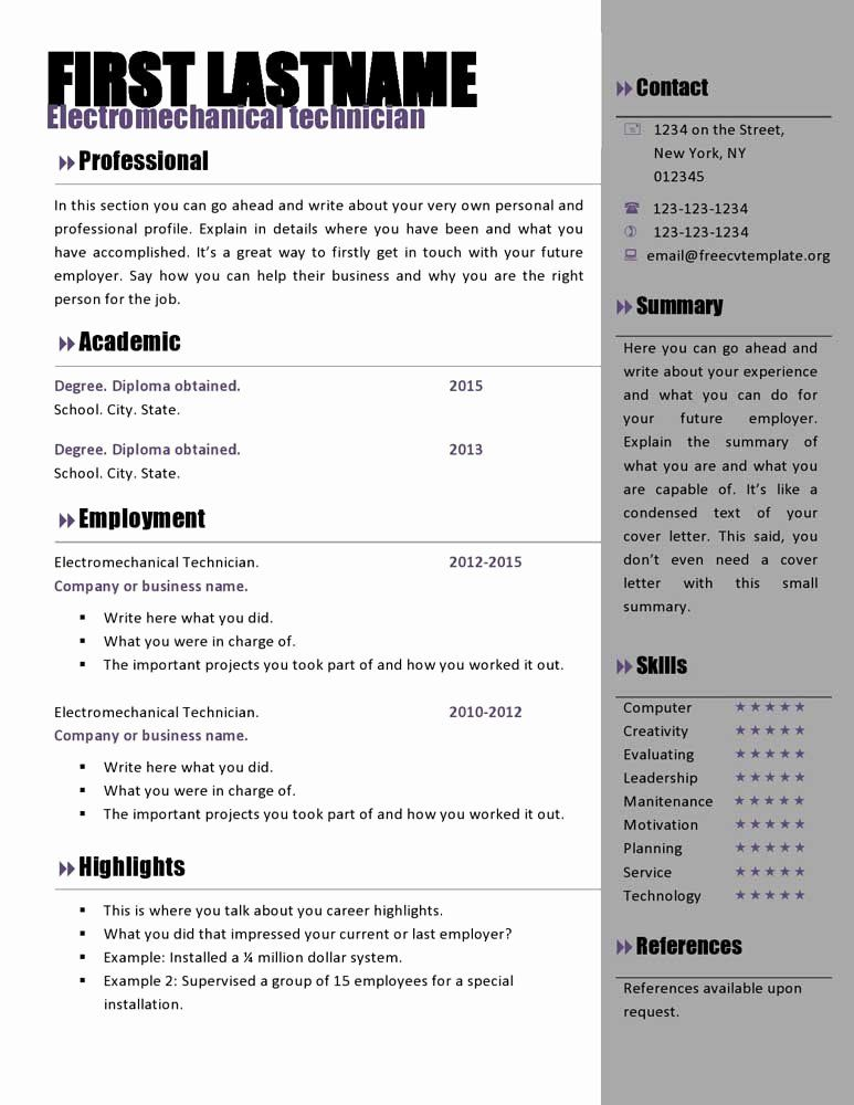 42++ Free sample resume for teachers word format Examples