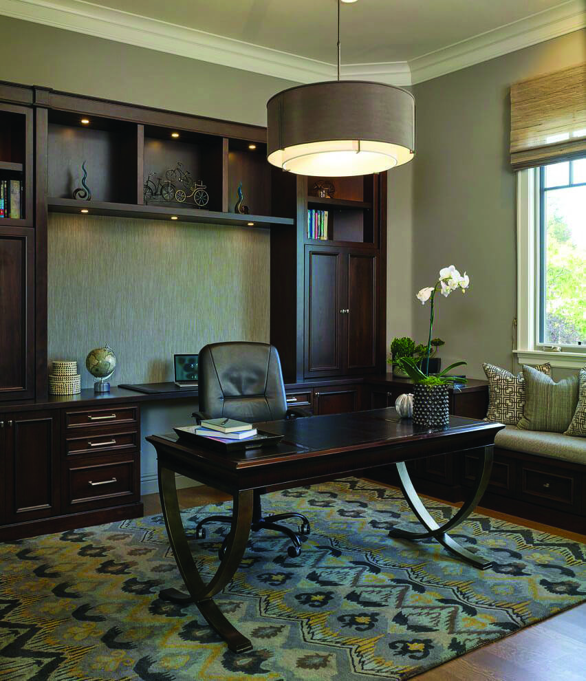 Ways To Decorate A Home Office Ceiling Lighting Uk To Refresh Your Home Traditional Home Office Home Office Design Office Interior Design