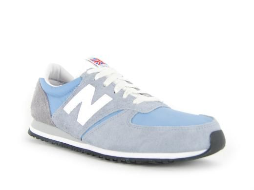 new balance grey and blue