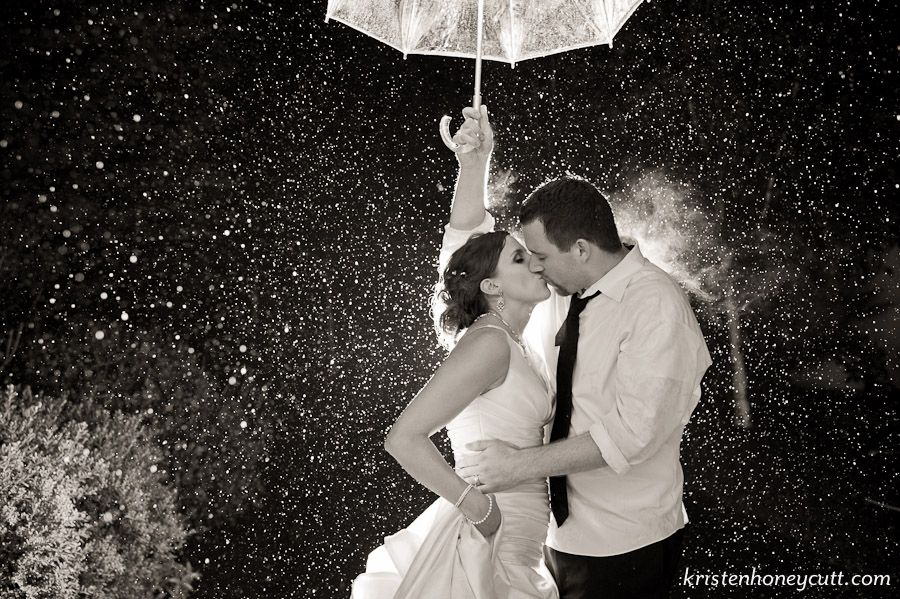 Nothing wrong with a little rain on your wedding day weddings nothing wrong with a little rain on your wedding day junglespirit Image collections