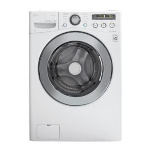 LG Electronics 3.6 DOE cu. ft. High-Efficiency Front Load Steam Washer in White, ENERGY STAR-WM2650HWA at The Home Depot