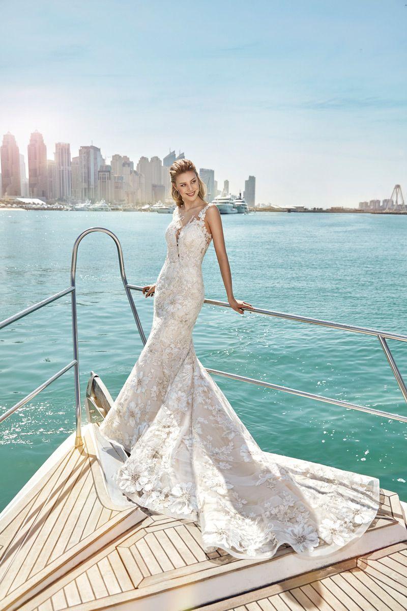 Wedding Dress #SKY115 – Eddy K Bridal Gowns | Designer Wedding ...