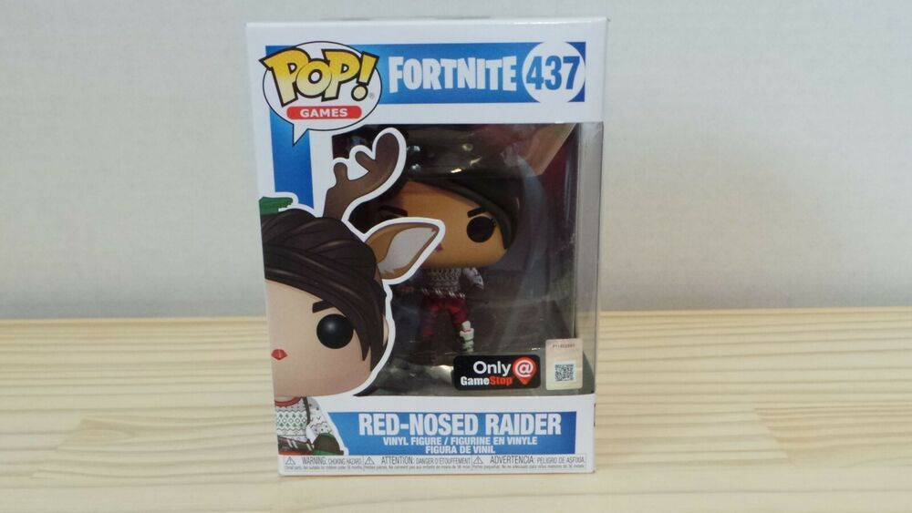 Funko Pop Red Nosed Raider 437 Fortnite Gamestop Exclusive