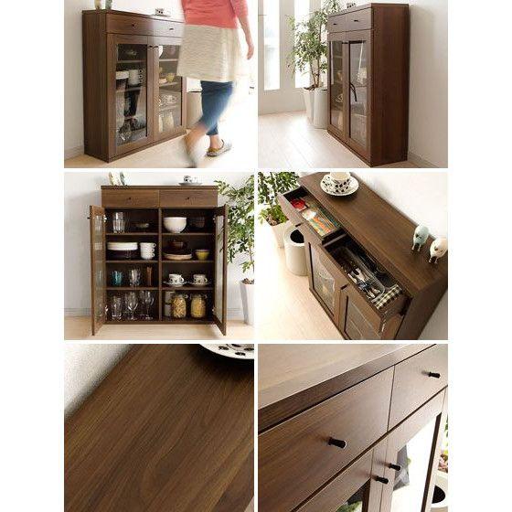 食器棚 おしゃれ 収納 カップボード キッチン収納 キッチン