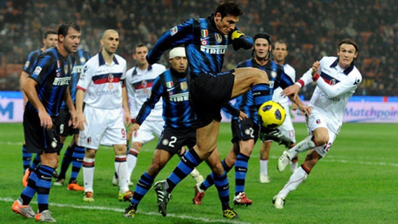 Gol Terakhir Terbaik Javier Bersama Inter Milan