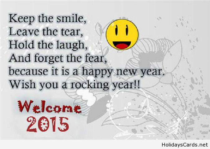 Wish you a rocking year 2015 | Happy New Year | Pinterest