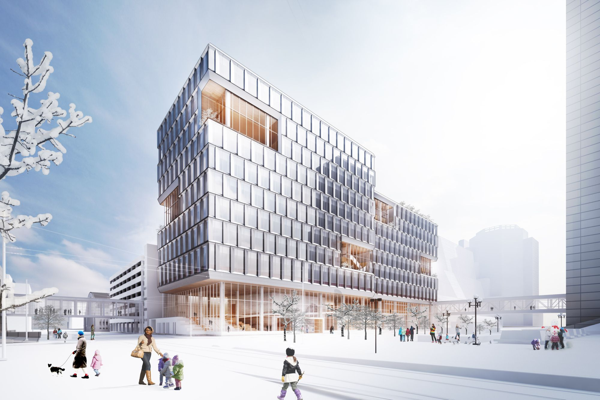 Henning Larsen Brings A Scandinavian Design Approach To The City Of Minneapolis Henning Larsen Architecture Architecture Drawing
