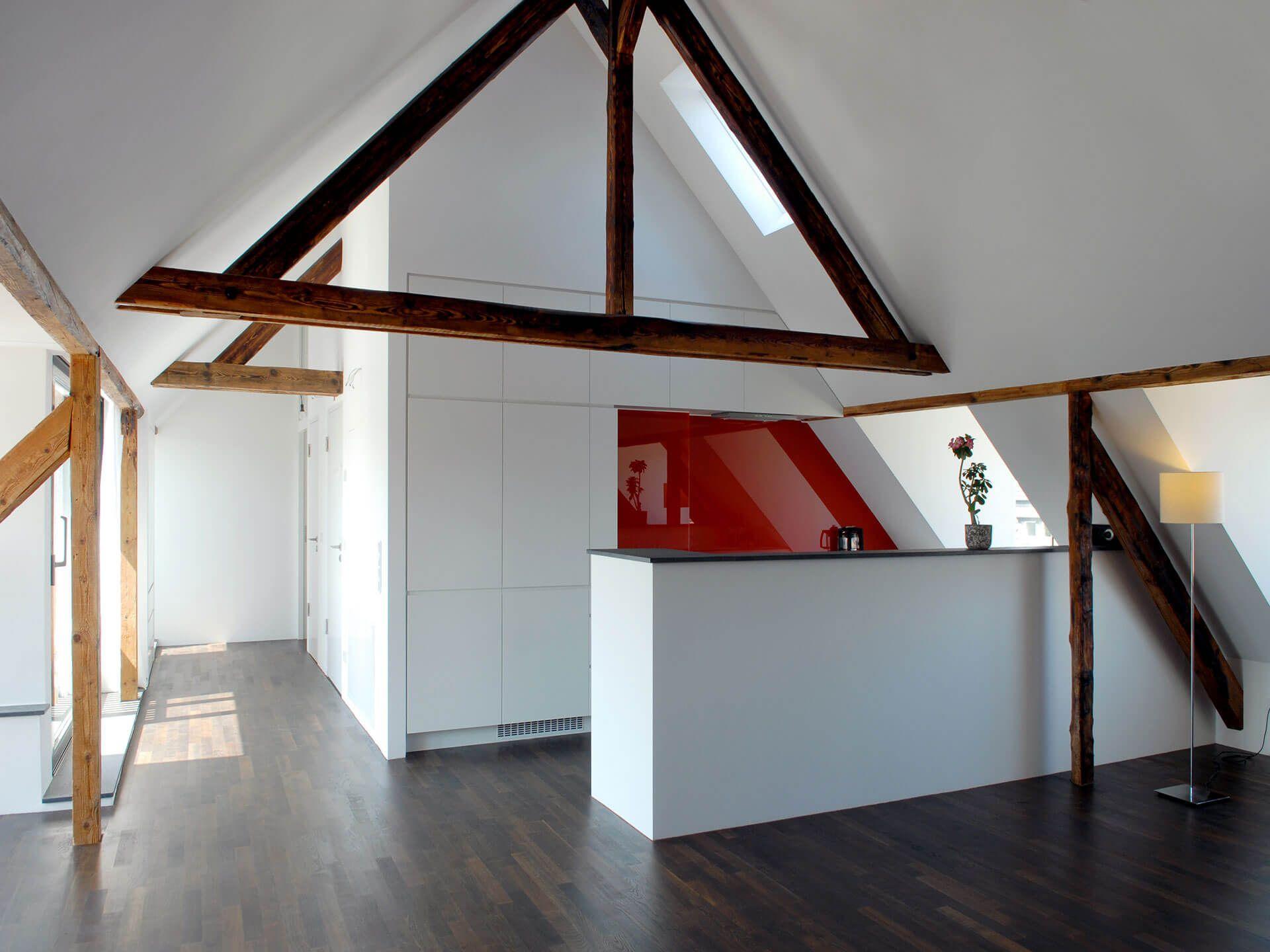 moderne Küche Dachgeschosswohnung Köln | Küche in 2018 ...