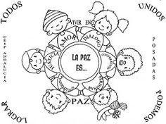 Dibujos Paz  EDUCACIN  Pinterest  Paz y Dibujo