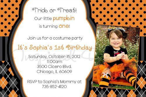 Child Birthday Halloween Theme