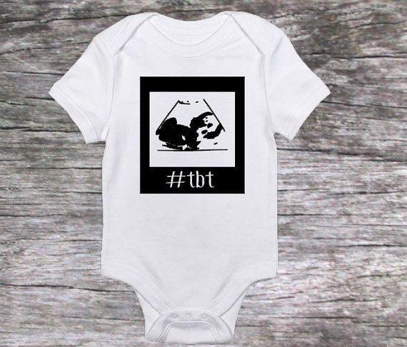 Throwback Thursday Bodysuit Funny Baby Shirt Funny Newborn Shirt