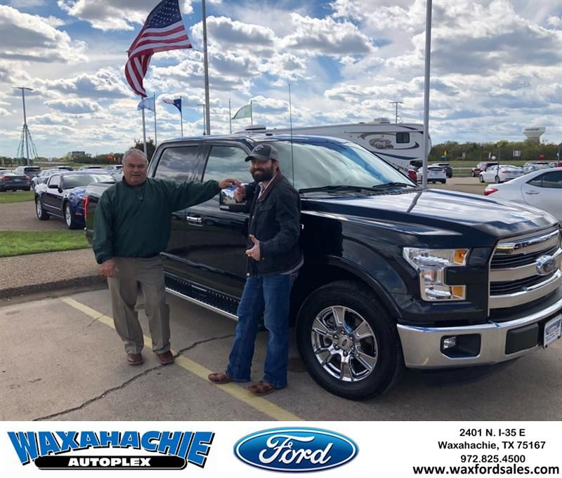 Congratulations Jordan On Your Ford F 150 From Johnie Thomas At
