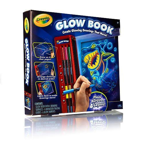 Crayola Light Designers - Color Explosion Glow Book - Crayola - Toys ...
