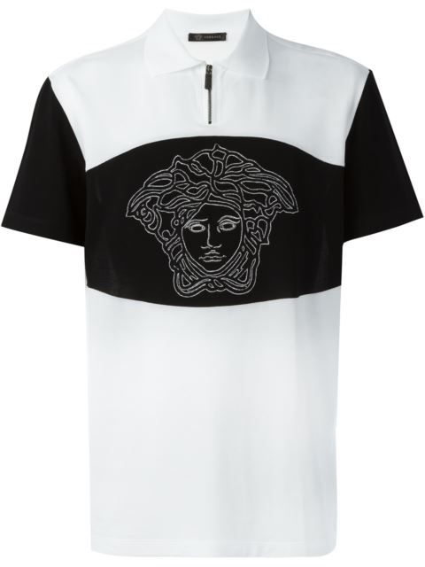 62659bc7d VERSACE Medusa Polo Shirt. #versace #cloth #shirt | Versace Men in ...
