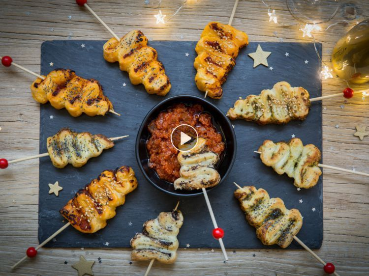 Mini flaky Christmas trees: discover the cooking recipes of Femme Actuelle Le MAG