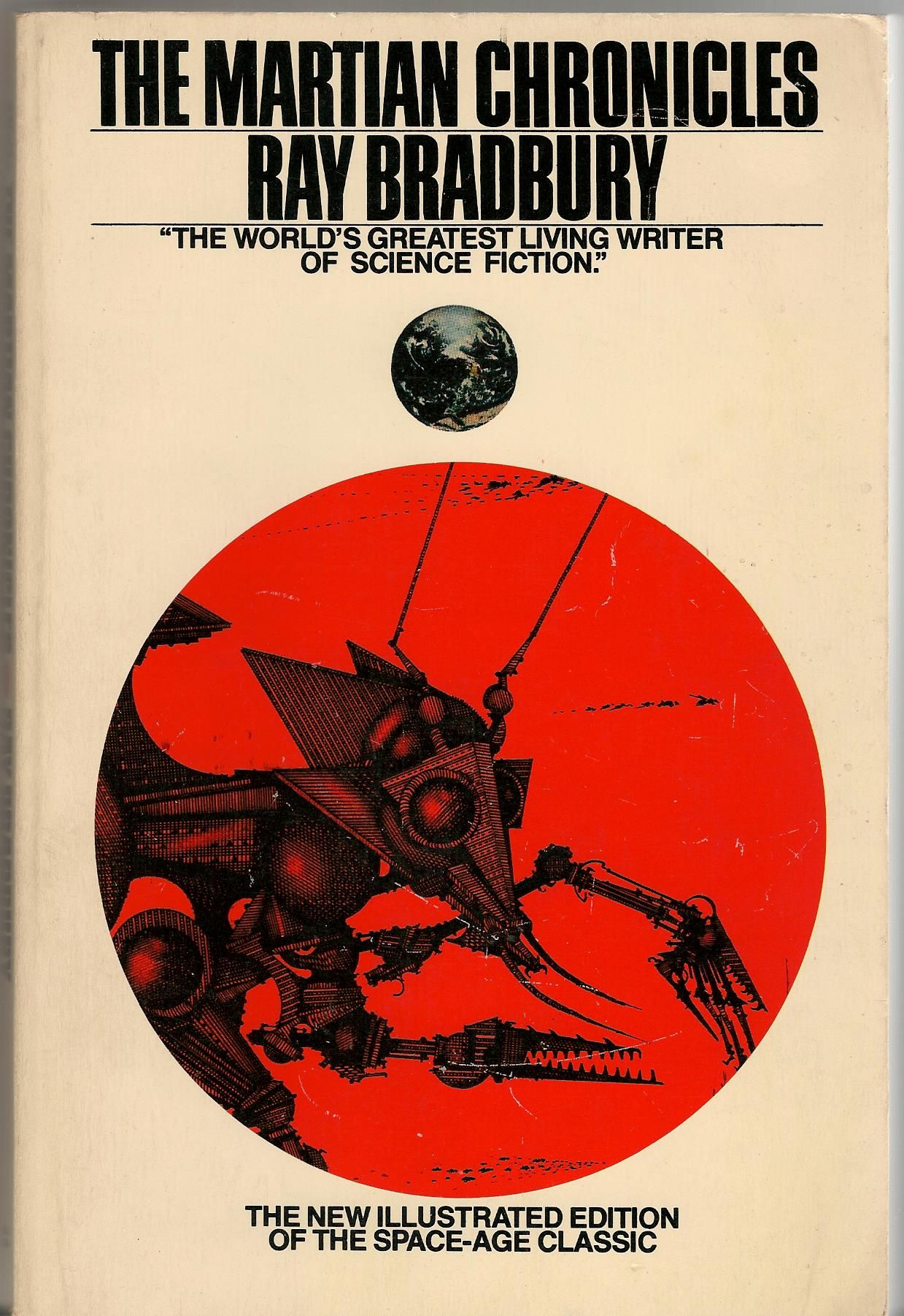 The Martian Chronicles Illustrated Edition Ray Bradbury Can T Remember If I Have Read This Science Fiction Novels Classic Sci Fi Books Sci Fi Books