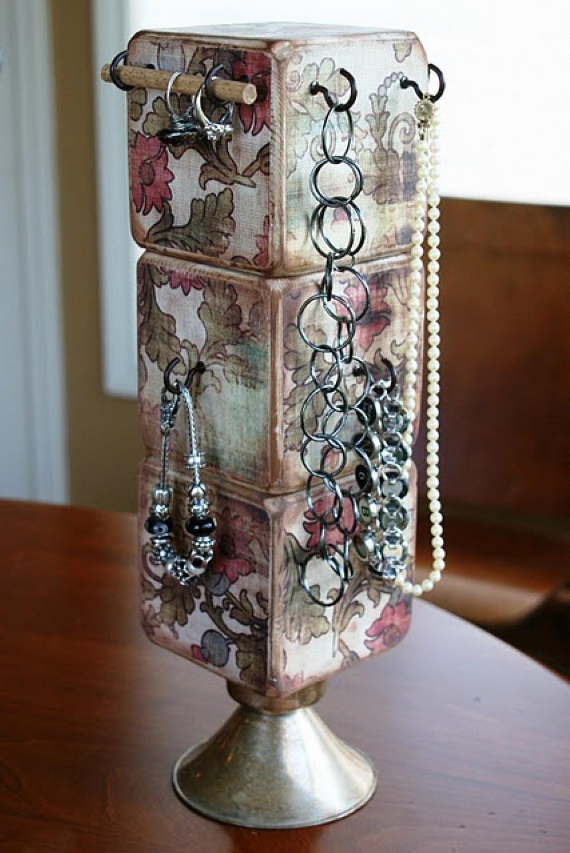 22 idées de rangement pour vos bijoux | Organisation de bijoux, Organisateur de bijoux diy et ...