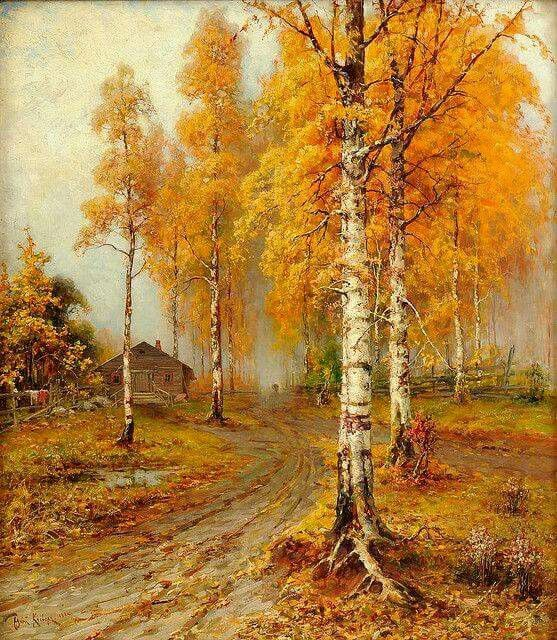 Julius Klever - Golden autumn