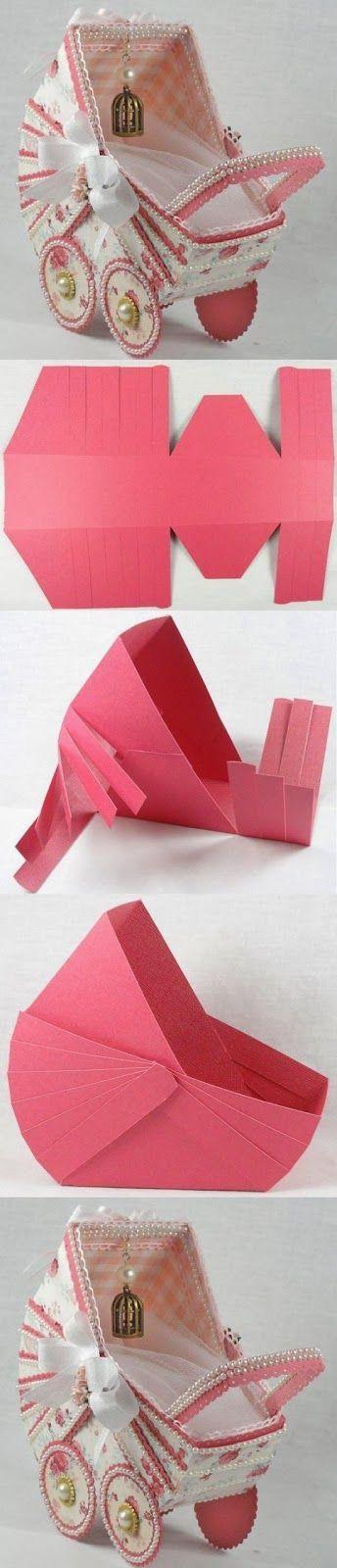 Diy Paper Stroller Diy Crafts Tutorials Ok This Is A Bit