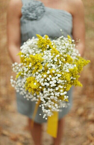 Pin On The Bouquet Mellow Yellow