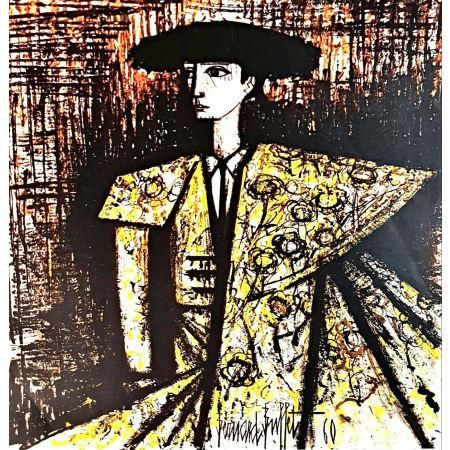 Terrific Bernard Buffet Bullfighter 1960 Original Lithograph Download Free Architecture Designs Lectubocepmadebymaigaardcom
