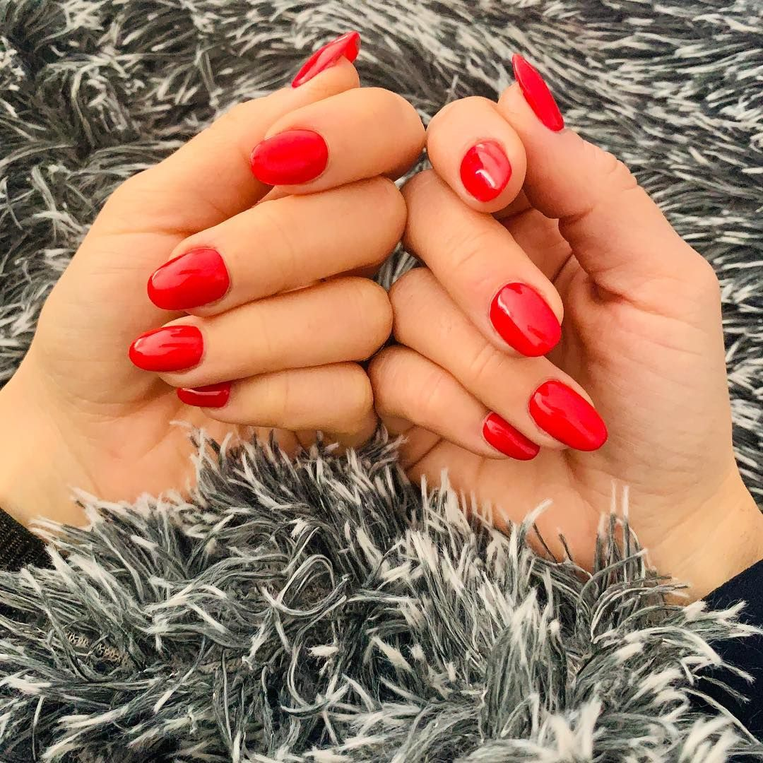 """Ixsidia on Instagram: """"#nailsred #nailsfactory #hands #colours"""""""