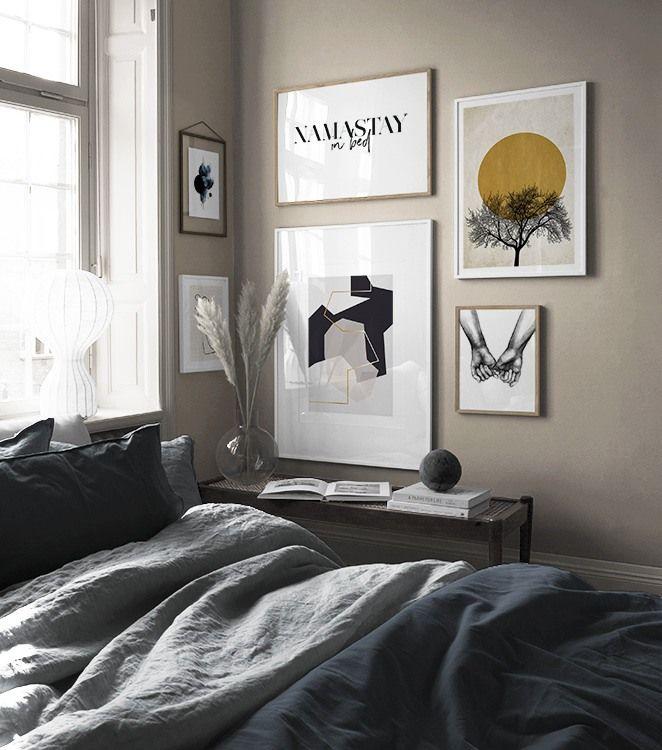 Billedvaeg I Sovevaerelse Indretning Og Plakater Til Sovevaerelset Galleri Vaeg Sovevaerelsesindretning Boligindretning