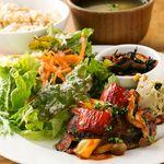 トライシクルカフェ - 料理写真:豆腐はんバークのランチセット