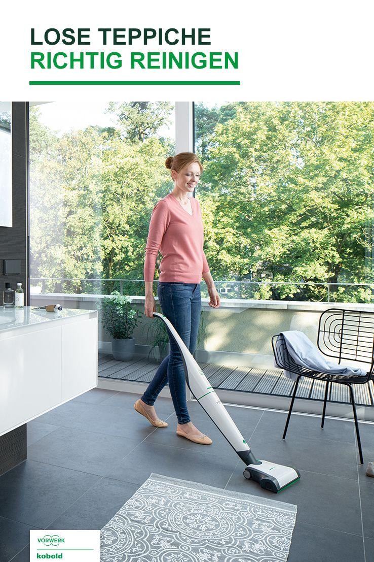 Wie Ihr Leichte Und Lose Teppiche Richtig Reinigt Teppich Reinigen Reinigen Teppich