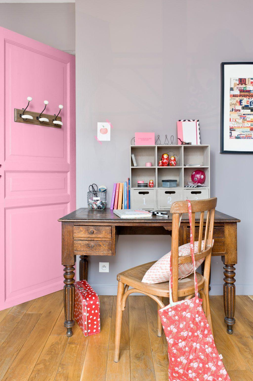 interieure et exterieure: zeitgenössisch association couleur rose