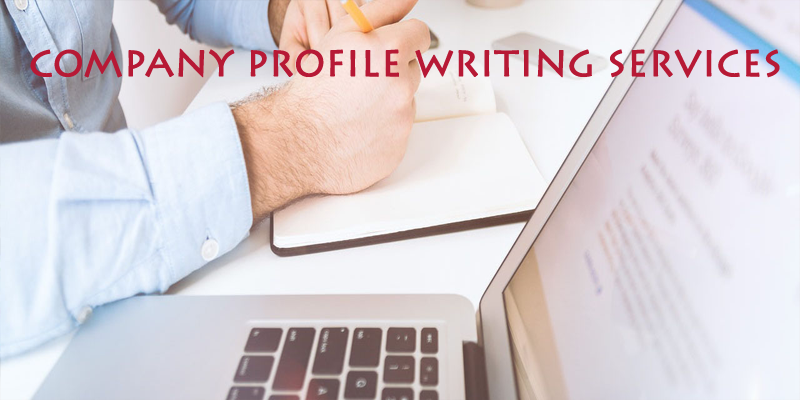 Corporate profile writing service