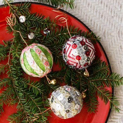 Festive Christmas Crafts Pinterest Christmas ornament, Ornament - southern living christmas decorations