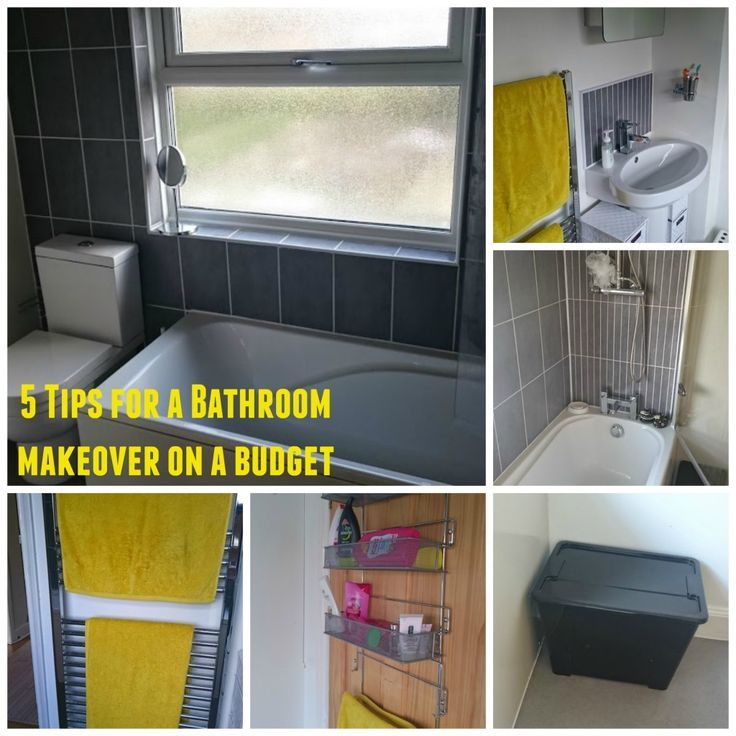 Bathroom Makeover Advice 5 steps for a one-day bathroom makeover on a budget | bathrooms