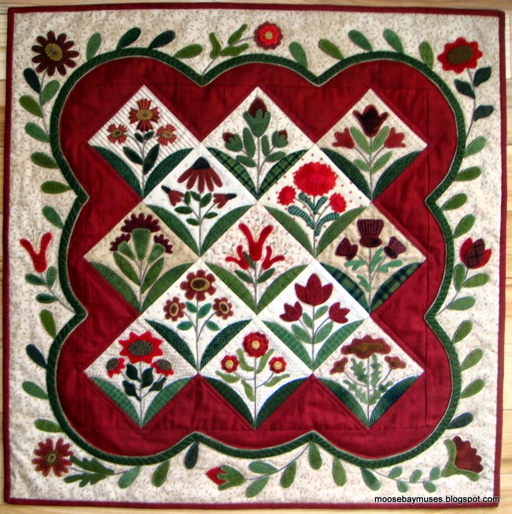 Summer Blooms | Applique for Sewing | Pinterest
