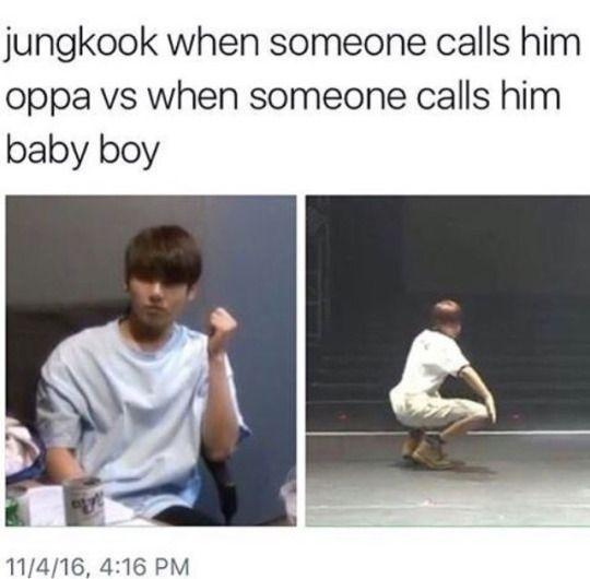 Image De Bts Jungkook And Baby Boy Bts Memes Hilarious Bts Jungkook Bts Memes