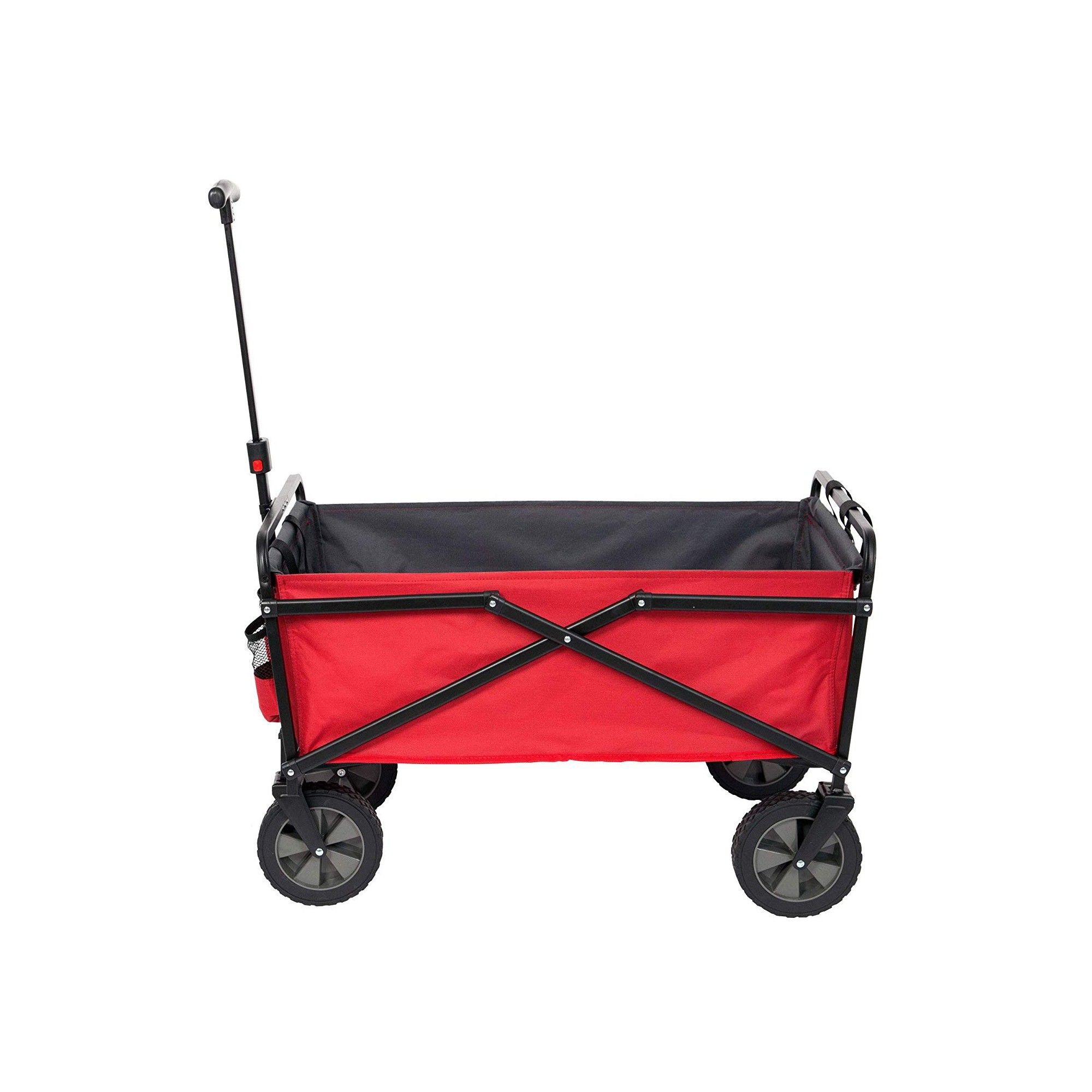 Seina 150 Pound Capacity Portable Folding Steel Wagon Outdoor