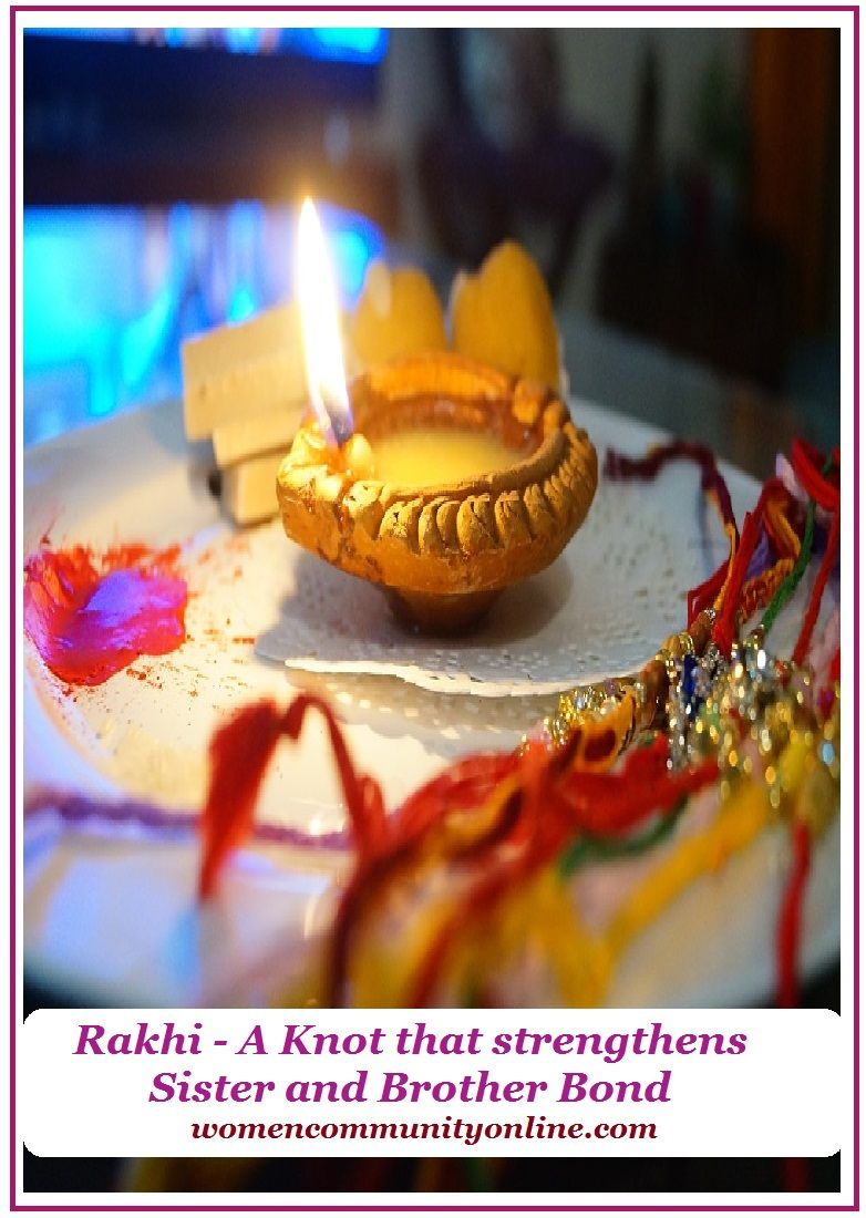 Rakhi - A Knot that strengthens Sister and Brother Bond ...