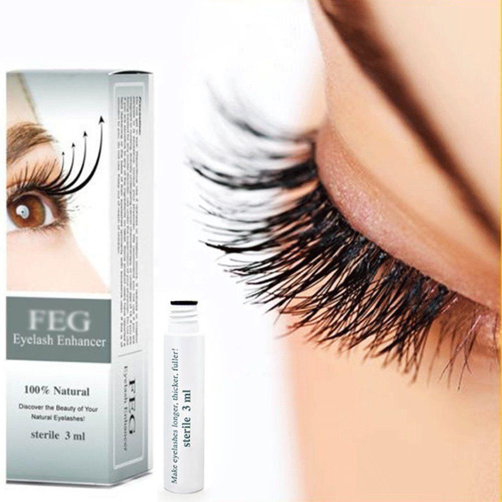 3afce014e60 100% Original Natural FEG Eyelash Enhancer Rapid Growth Serum Liquid 3ML  Beauty